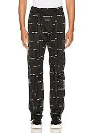 All Over Print Baggy Nylon Pant