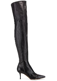 Over the Knee Toe Cap Boots