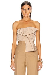 Bow Bustier Top