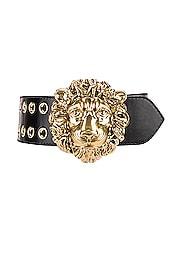 Leather Lion Belt