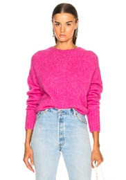 Brushed Wool Crew Sweater