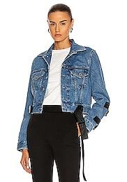Strap Trucker Jacket