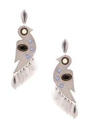 Bird Stone Earrings