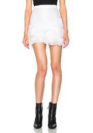 Vetra Pleated Organza Skirt