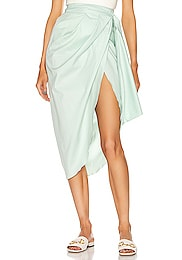 Mint Eco Warrior Wrap Skirt