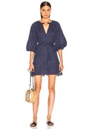 Abha Belted Mini Dress