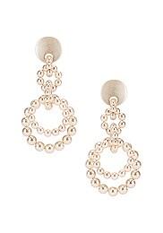 Pearl Loop de Loop Earrings