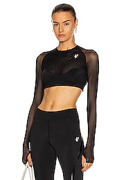 Athleisure Cropped Top