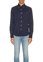 GD Chino Long Sleeve Button Up Shirt