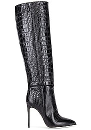Moc Croco Tall Stiletto Boot