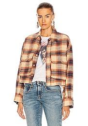 Oversized Cropped Shirt