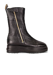 Platform Zip-Up Boot