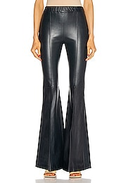 Pull On Pintuck Flare Pant