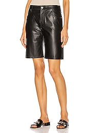 Leather Jami Baggy Short