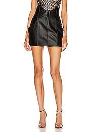 Fae Leather Skirt
