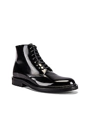 Army Lace Up Boots