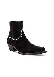 Lukas 40 Studs Zip Boots
