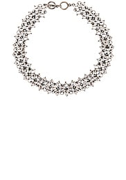 Crystal Mesh Collar Necklace