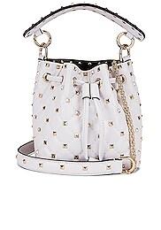Mini Rockstud Spike Bucket Bag
