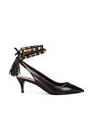 Rockstud Ankle Strap Heels