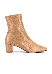Sofia Lizard Embossed Boot