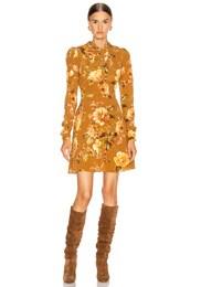 Resistance Silk Twist Mini Dress